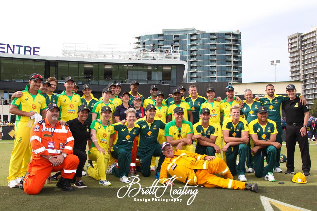 The Bushfire Cricket Legends Bash Charity Match