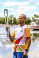 2018 Queens Baton Relay -XX1Commonwealth Games -Relay through Ba